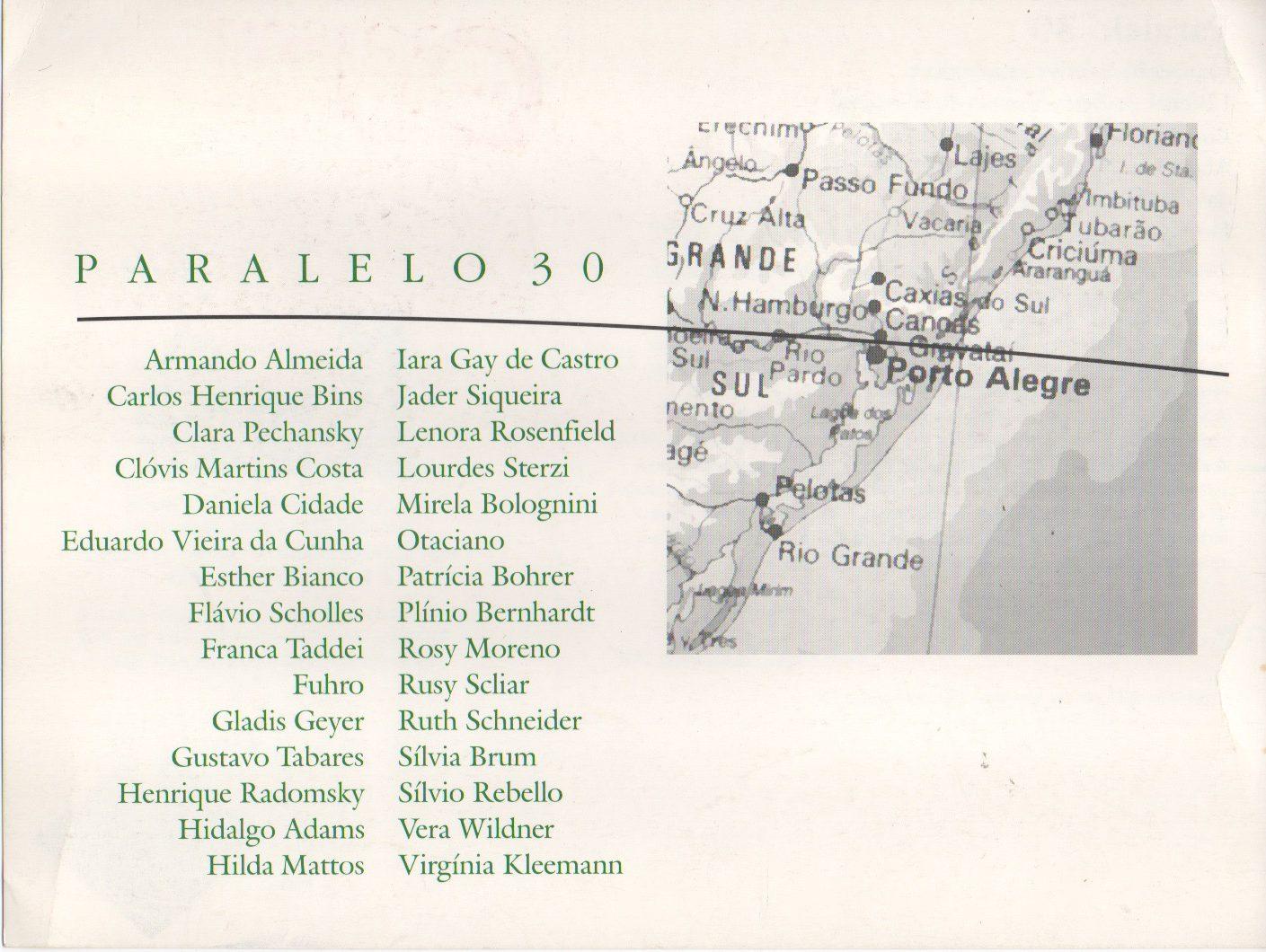 Paralelo 30, 1997